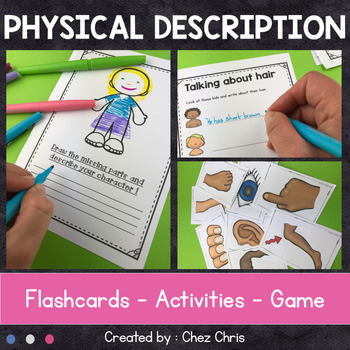 Physical Description : flashcards, reading & writing activities