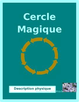Description physique (Physical description in French) Cercle magique