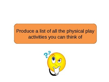 Physical development and how it supports play