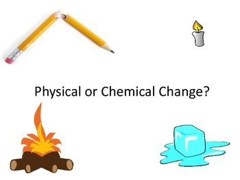 Physical or Chemical Change Sort