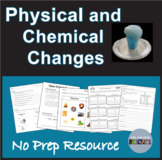 Physical and Chemical Changes NGSS MS-PS1-2 and NGSS MS-PS1-5