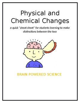 Physical and Chemical Change Notes