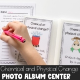 Physical or Chemical Change Photo Album Center