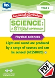 Physical sciences including STEM project – Year 1