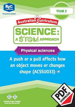 Physical sciences including STEM project – Year 2