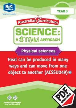 Physical sciences including STEM project - Year 3