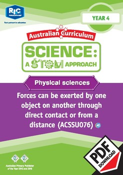 Physical sciences including STEM project - Year 4