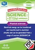 Physical sciences including STEM project - Year 6