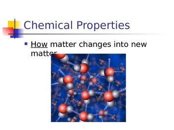 Physical vs. Chemical Change
