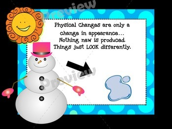 Physical vs. Chemical Changes