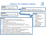 Physical vs. Chemical Changes in Baking
