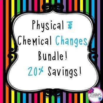Physical/Chemical Changes Bundle! 20% Savings!