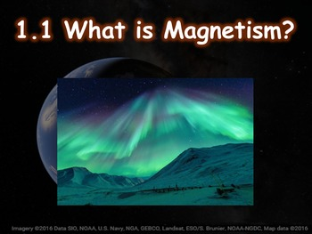 Physics 1.1 What is Magnetism? Guided notes and PowerPoint