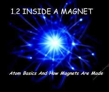Physics 1.2 Atom Basics and Inside a Magnet Powerpoint and Guided Notes