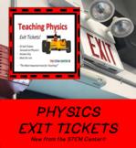 Physics Vocabulary Exit Tickets