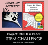 STEM CHALLENGE: Physics Experiment - MAKE A PLANE - Distan