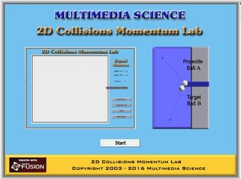Physics - 2D Momentum Collisions Lab