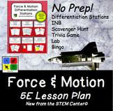 Physics 5 E Lesson Plan