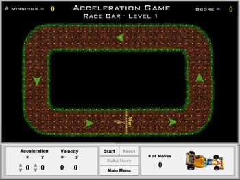 Physics - Acceleration Game
