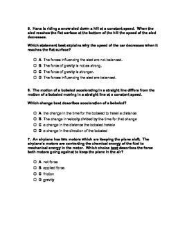 Physics Assessment