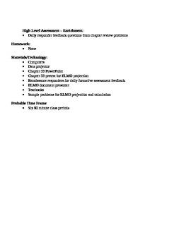 Physics - Astrophysics Block Schedule Lesson Plan