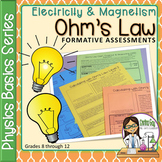 Physics Basics Series: Ohm's Law Formative Assessments