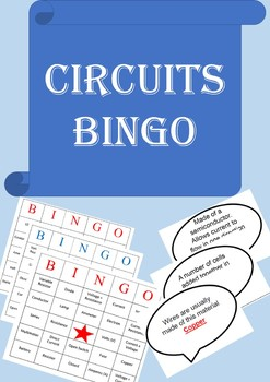 Physics Bingo: Electrical Circuits