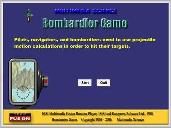 Physics - Bombardier Game - PC Version