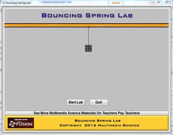 Physics - Bouncing Spring Lab