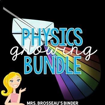 Physics Bundle by Mrs Brosseau's Binder | Teachers Pay Teachers