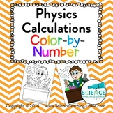 Physics Calculations Color-by-Number