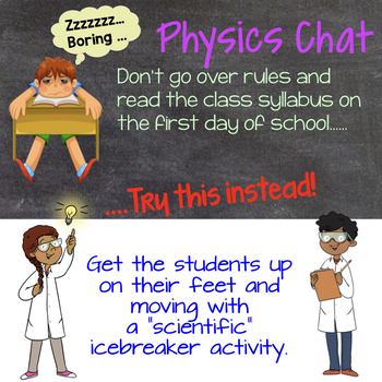 Physics Chat: First Day of School Icebreaker Lab Activity for Physics