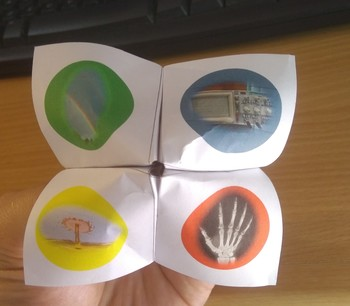 Physics Chatterbox/Cootie catcher: Waves