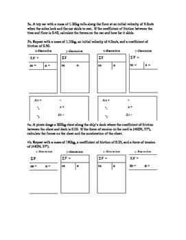 Physics Classwork 12