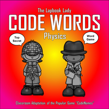 Physics Code Words Game  (Code Names Game Adaptation)