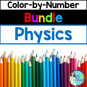 Physics Color-by-Number Growing Bundle