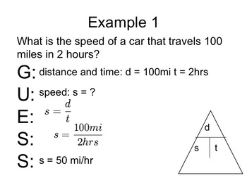 Physics - Constant Speed (Complete Lesson)