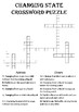 Physics Crossword Puzzle: Changing State (Includes answer key)