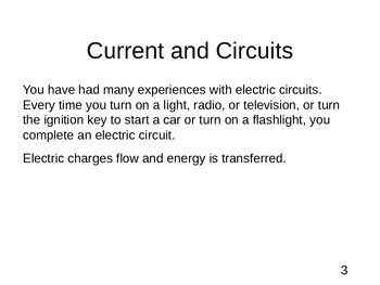 Physics - Current Electricity - .ppt