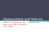 Physics Displacement and Velocity Powerpoint