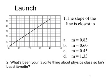 Physics - Distance and Displacement (Lesson plan and materials)