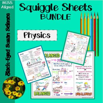 Physics Doodle Notes Bundle
