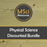 Physics Doodle Sheets BUNDLE Forces Motion Electricity Ene