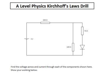 Physics Drill Spreadsheets