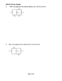 Physics Electrical Problems