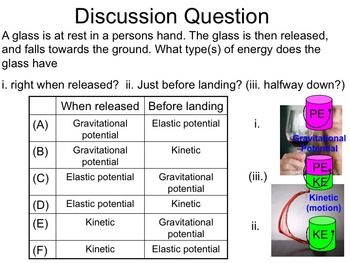 Physics -- Energy Conservation II (complete lesson)