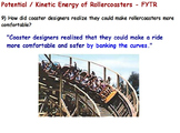 Physics -Energy Transformations(Potential&Kinetic enrgy) w/WS-Reading Assignment