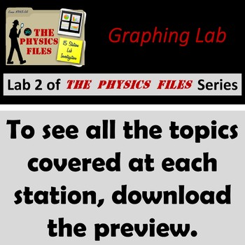 Physics Files: Graphing Lab