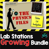 Physics Files: Lab Stations Growing Bundle