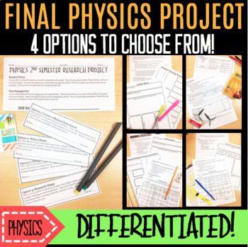 Physics Final Project-4 Differentiated Options